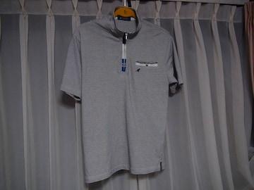KANGOLのポロシャツ(L) グレー!。