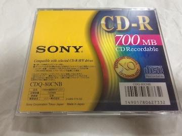 sony cd-r 未開封 新品 日本製