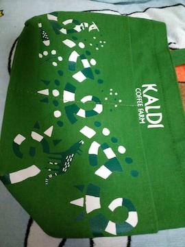 KAlDI ミニトートバッグ*緑色