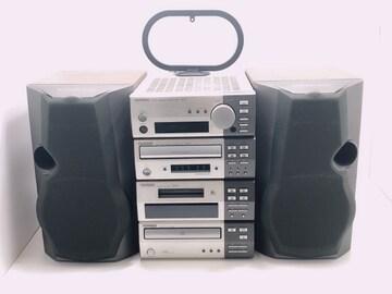 C214 KENWOOD システムコンポ 3Wayスピーカー 音響オーディオ