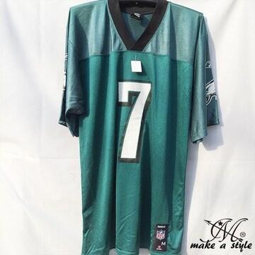 訳あり品 NFL フットボールシャツ Eagles グリーン REEBOK XL693