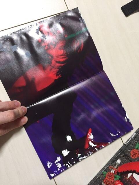 難あり☆VAMPS LIVE 2012☆Blu-rayDisc☆ZEPP NAMBA < タレントグッズの