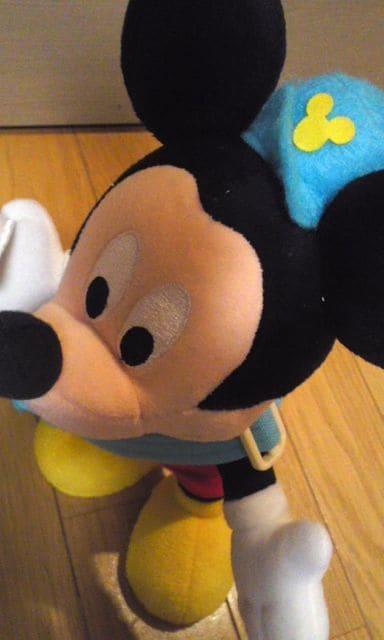 郵便屋さん★ミッキー★ぬいぐるみ★ < おもちゃの