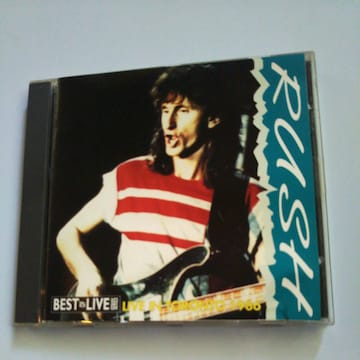 CD RUSH LIVE IN TORONTO1986送料無料
