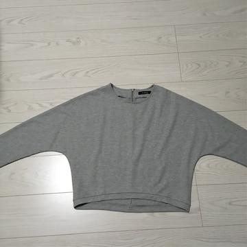 ダブルクローゼットw closet丈52身幅50Fサイズ長袖カットソー