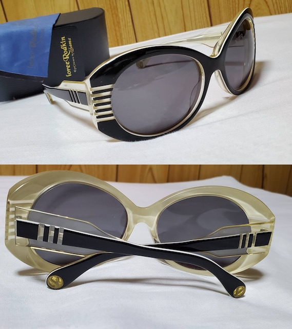 正規未 限定 ローリーロドキン Limited Edition ゴシックコントラストサングラス 黒 < ブランドの