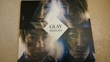 GLAY「HEROES」DVD付