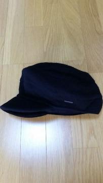 未使用 KANGOL(カンゴール)キャスケット ニット帽 黒