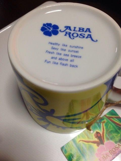 新品★アルバローザ直営店限定マグカップ★レア < ブランドの