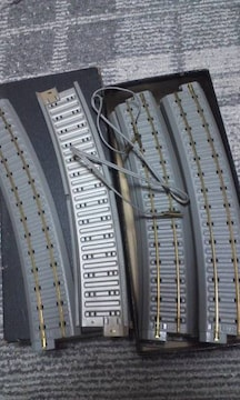 HOゲージ 線路 曲線600R 16本組  未使用品