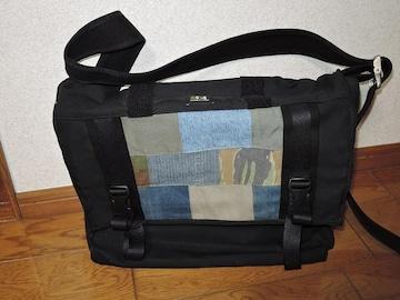 新品DOUBLE R HAMPUダブルアールハンプメッセンジャーバッグ鞄