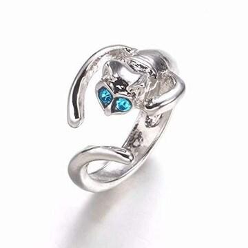 ★RICISUNG リング 指輪 アクセサリー ファッション ブルー