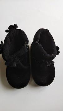 お花付 ブーツ