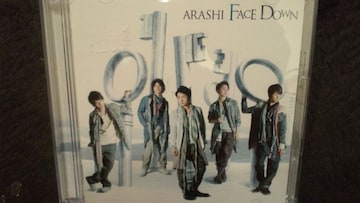 激安!超レア!☆嵐/FACE DOWN☆初回限定盤/CD+DVD☆美品!☆