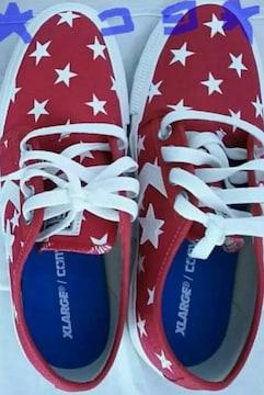 コンバース CONVERSE シェブロンスター 赤 スニーカー 靴