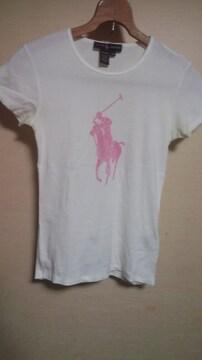 ラルフローレン TシャツM アメリカ製