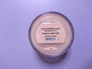ベアミネラル■ファンデーション/fairly light 8g