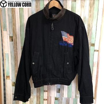YELLOW CORN ビンテージ 刺繍デザインジャケット