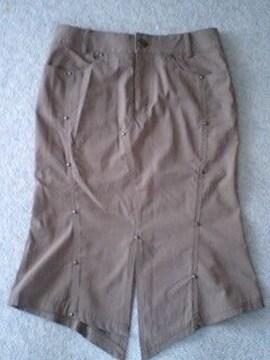 トルネードマートマーメイドラインスタッズ付スカート