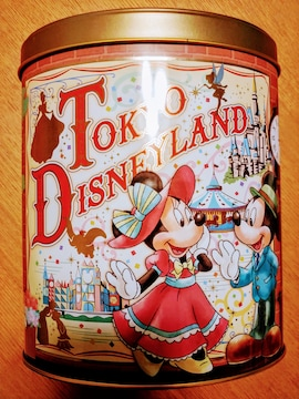 ディズニー缶