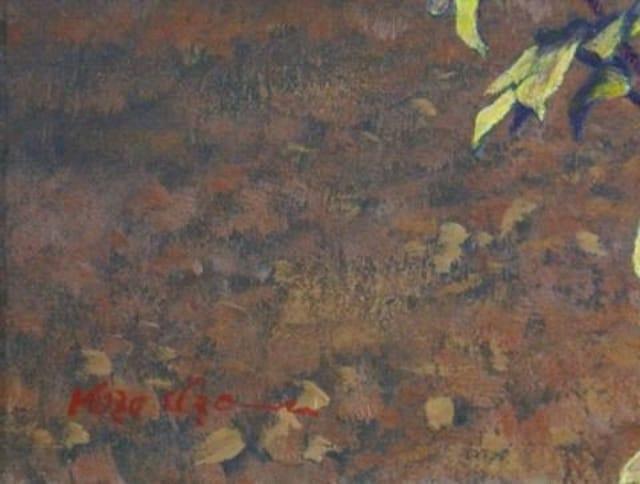 絵画 油彩 井澤幸三『PEONY』蔵:ホキ美術館 < ホビーの