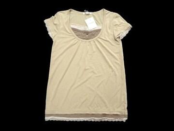 新品 annette レイヤード風 半袖 カットソー Tシャツ