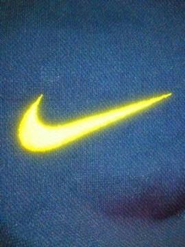 NIKE ナイキ バスケットボール オープンヘムジャケット 上着 ネイビー イエロー Lサイズ