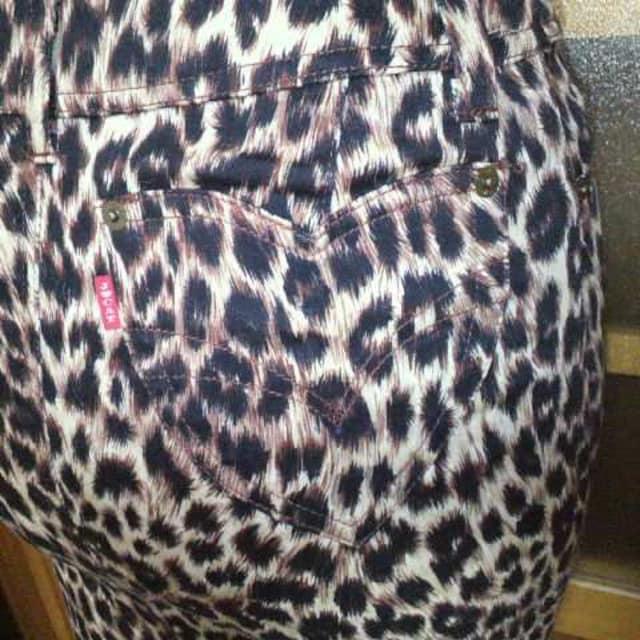 JUNGLE CAT/ジャングルキャットレオパ 豹柄 タイトスカート < ブランドの
