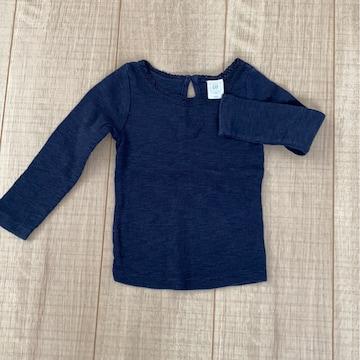 babyGAP可愛い長袖トップス12-18mネイビー80