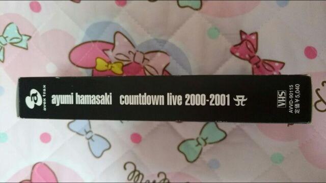 浜崎あゆみCOUNTDOWN LIVE 2000ー2001 ビデオ☆激レア! < タレントグッズの