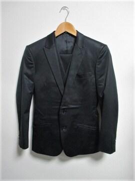 ☆HIGH STREET ハイストリート 3ピース スーツ セットアップ/メンズ/S☆ブラック